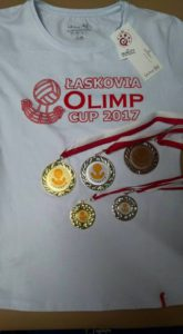 Koszulka i medale Łaskovia Olimp Cup