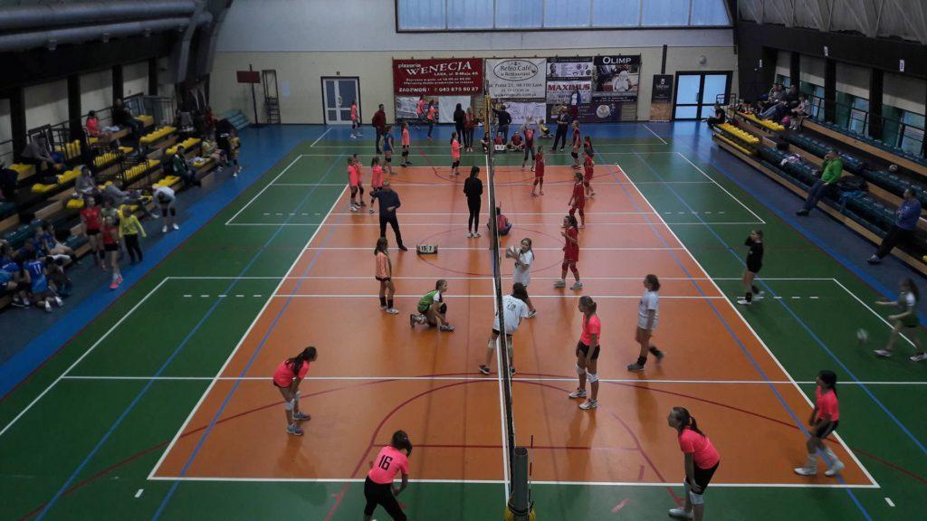 Przez 2 dni w Łasku rywalizowało niemal 200 dziewcząt z całej Polski